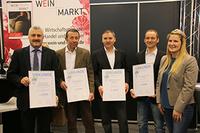Weinkellerei Hohenlohe beweist ausgezeichnete Qualität bei heimischer Rebsorte Schwarzriesling