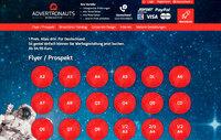 Deutschland: Flyer ab 34.95 Euro bei Advertronauts