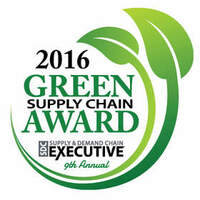 Tyco Retail Solutions wird mit dem Supply & Demand Chain Executive Green Supply Chain Award 2016 ausgezeichnet