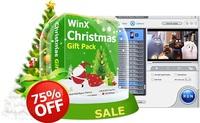 Geschenke zu Weihnachten und Neujahr: 75% Rabatt auf WinX DVD Ripper Platinum und Software-Pack