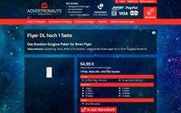 Deutschland: Flyer DL ab 54.95 Euro bei Advertronauts