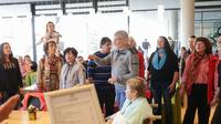 Gospel-Flashmob bei Krachenfels im Klinikum