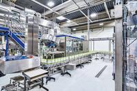 Fruchtsafthersteller setzt auf LED-Hallendeckenstrahler - Presseinformation der Deutschen Lichtmiete