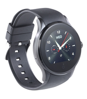simvalley MOBILE Handy-Uhr & Bluetooth-Smartwatch