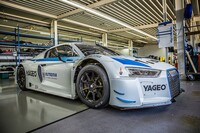 Rutronik als Sponsor von HCB-Rutronik Racing beim FIA GT World Cup in Macau