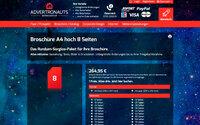 Österreich: Broschüre A4 ab 264.95 Euro alles inklusive