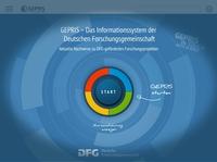 Wissenschaft schnell und mobil erschließen mit der DFG GEPRIS App