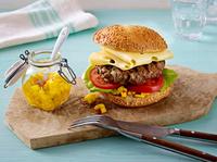 Burger und Käse - Verbraucherfrage der Bergader Privatkäserei