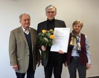 Ehemaliger Rektor der Deutschen Hochschule bekommt Ehrensenatorwürde verliehen