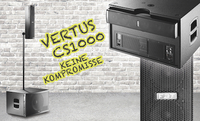 FBT präsentiert VERTUS CS1000: Kompaktes, modulares Line-Array für Live-Einsatz und Installation