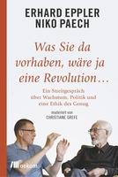 Ecobookstore-Buchtipp mit Eppler und Paech: prominente Querdenker im Streit