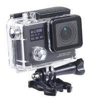 Somikon 4K-Action-Cam für UHD-Videos, mit 2 Displays