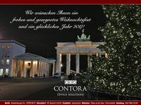 CONTORA Office Solutions wünscht frohe Weihnachten