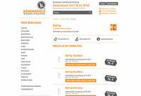 Kensingfield Werbeagentur: Roll-Up zum Festpreis