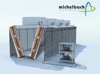 Hygienegeprüfte Rückkühler für schmale Gerätekonstruktionen