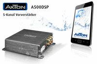AXTON A500DSP: Plug & Play Vorverstärker mit Smartphone App