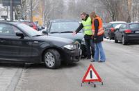 """""""Wichtigste Schritte nach einem Autounfall"""" - Verbraucherinformation der ERGO Versicherung"""