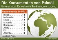 Die Konsumenten von Palmöl