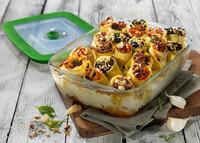 Pasta-Party: Dreierlei Cannelloni mit Pyrex Cook & Store