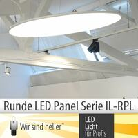 Runde LED Panel Serie IL-RPL