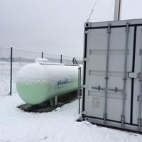 Baustellen im Winter: Mobiles Flüssiggas sichert vielseitig den Betrieb. PROGAS informiert.