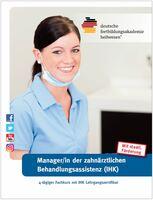 Fortbildung: Manager/in der zahnärztlichen Behandlungsassistenz (IHK)
