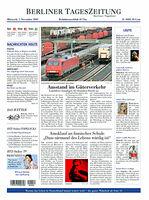 BERLINER TAGESZEITUNG a german Newspaper