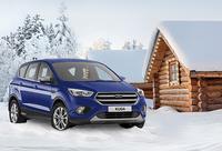 Winterliche Premiere für den neuen Ford Kuga