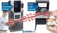 Cashback-Aktion für Stratasys 3D Drucker bei encee