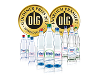 Baden-Württembergische Qualitätsprodukte: Goldmedaillen für alwa- und Griesbacher-Mineralwässer