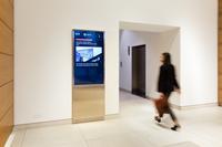 alstria lässt digitales Bildschirmnetzwerk von ECN im Mundsburg Office Tower in Hamburg installieren