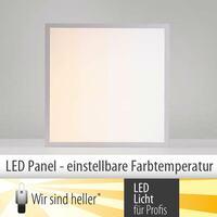 LED Panel mit individuell einstellbarer Farbtemperatur