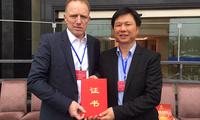 Deutschland und China rücken zusammen - Unternehmerverband Jieyang wählt Deutschen in den Vorstand