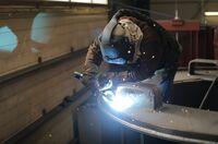 Maschinenbau Hahn: Schweißen von Bauteilen, unlösbar verbunden