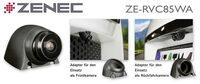 Sicher Einparken mit ZENECs Weitwinkel-Kamera ZE-RVC85WA