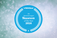 Mynewsdesk zeichnet den Newsroom of the Year 2016 aus