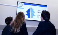 Erste Demografieuhr Deutschlands hängt in Siegen
