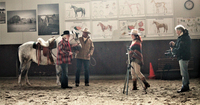showimage Wieder Dreharbeiten auf der Ballermann Ranch