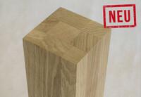 Internet-Shop für maßgefertigte Leimholzplatten erweitert Sortiment um Massivholz-Tischbeine