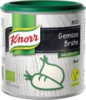 Bio und vegan: Gemüse Brühe von Knorr
