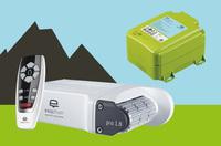 Caravan-Rangierhilfen: Batterie + Ladegerät nur 2 kg