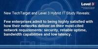 Hybride IT ist bei Unternehmen Top Netzwerk-Priorität in 2017