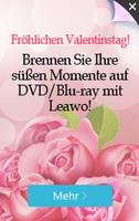 Leawo startet ihre 2017 Valentinstag-Promotion und bietet ein DVD App gratis beim Kauf eines Blu-ray Apps an