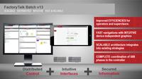 Neueste Version der FactoryTalk Batch-Software von Rockwell Automation bietet moderne Lösungsansätze für Batch- und Chargenprozesse