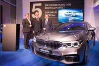 BMW Niederlassung Frankfurt feiert Premiere der neuen BMW 5er Limousine