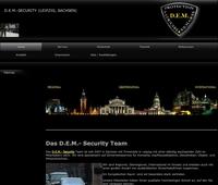 Dienstleistungsoffensive der D.E.M. Security