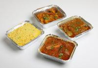 Menüschalen für den professionellen Menüdienst und Speiseservice