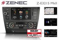 ZENECs BMW-Navi Z-E3215 MkII überzeugt die Fachpresse
