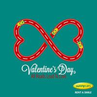 Valentinstag-Rabatt bei Sunny Cars