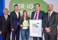 Walter-Fach-Kraft belegt den dritten Platz beim iGZ-Award